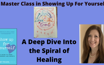 A 4-Week Webinar Master Class with Janet Philbin, A Deep Dive into The Spiral of Healing.  This self-study class is an experience in healing as each week you travel through and experience the components of The Spiral of Healing- Feel, Heal, Grow, Love.